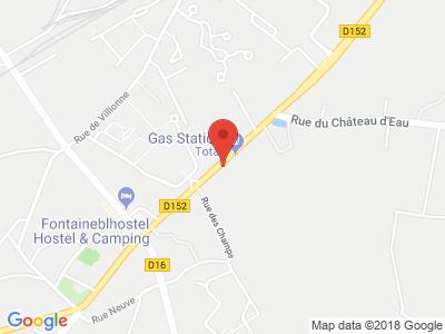 Plan Google Stage recuperation de points à Chapelle-la-Reine proche de Étampes
