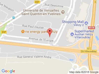 Plan Google Stage recuperation de points à Vélizy-Villacoublay proche de Boulogne-Billancourt