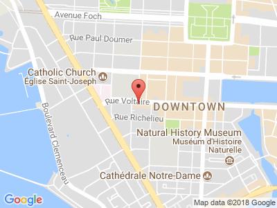 Plan Google Stage recuperation de points à Le Havre proche de Deauville
