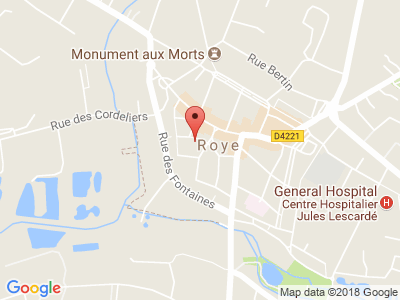 Plan Google Stage recuperation de points à Roye