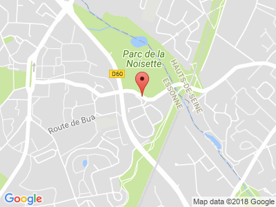 Plan Google Stage recuperation de points à Verrières-le-Buisson proche de Massy