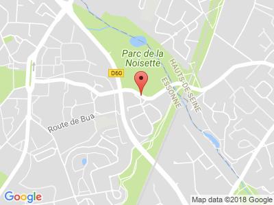Plan Google Stage recuperation de points à Verrières-le-Buisson proche de Massy