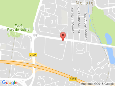 Plan Google Stage recuperation de points à Noisiel proche de Chelles