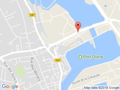 Plan Google Stage recuperation de points à Les Sables-d'Olonne