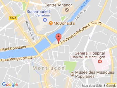 Plan Google Stage recuperation de points à Montluçon