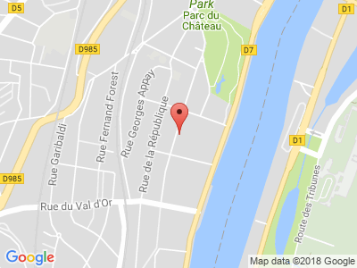 Plan Google Stage recuperation de points à Suresnes proche de Boulogne-Billancourt