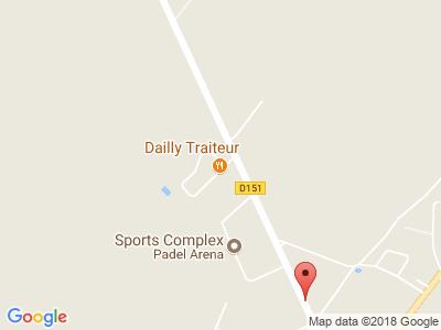 Plan Google Stage recuperation de points à Isneauville proche de Mont-Saint-Aignan