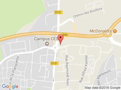 Plan Google Stage recuperation de points à Mont-Saint-Aignan