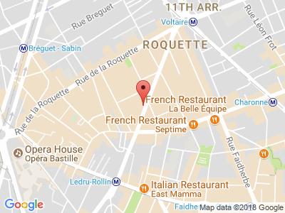 Plan Google Stage recuperation de points à Paris