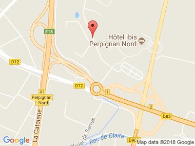 Plan Google Stage recuperation de points à Rivesaltes proche de Perpignan