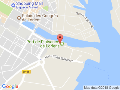 Plan Google Stage recuperation de points à Lorient