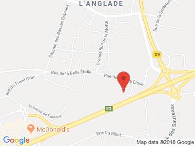 Plan Google Stage recuperation de points à Puilboreau proche de La Rochelle