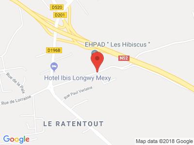 Plan Google Stage recuperation de points à Mexy proche de Verdun