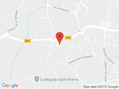 Plan Google Stage recuperation de points à Six-Fours-les-Plages proche de La Seyne-sur-Mer