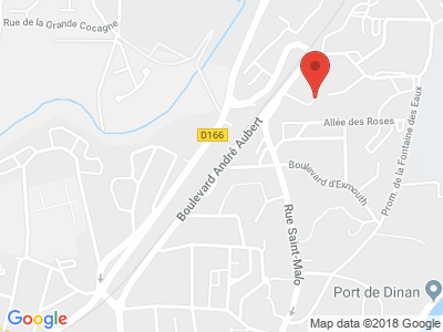 Plan Google Stage recuperation de points à Dinan