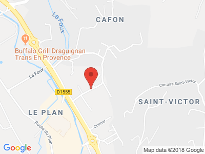 Plan Google Stage recuperation de points à Trans-en-Provence proche de Draguignan