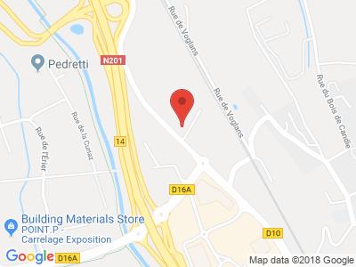 Plan Google Stage recuperation de points à Chambéry
