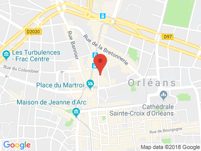 Plan Google Stage recuperation de points à Orléans