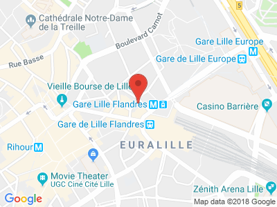 Plan Google Stage recuperation de points à Lille