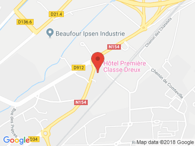 Plan Google Stage recuperation de points à Dreux