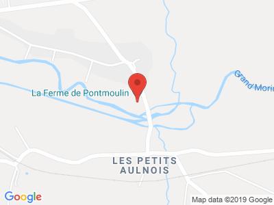Plan Google Stage recuperation de points à Coulommiers proche de Château-Thierry