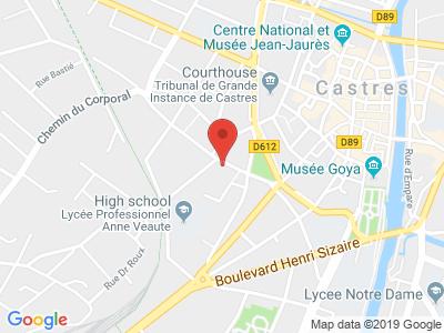 Plan Google Stage recuperation de points à Castres