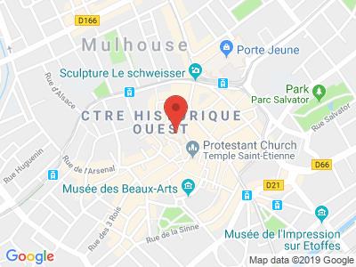 Plan Google Stage recuperation de points à Mulhouse