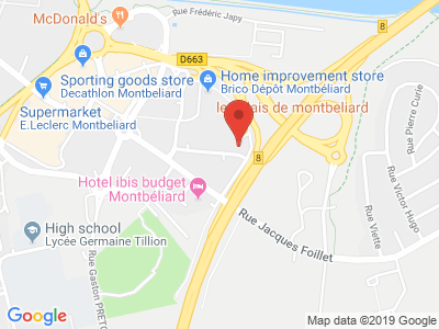 Plan Google Stage recuperation de points à Montbéliard