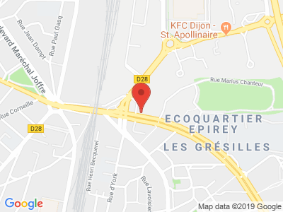 Plan Google Stage recuperation de points à Dijon