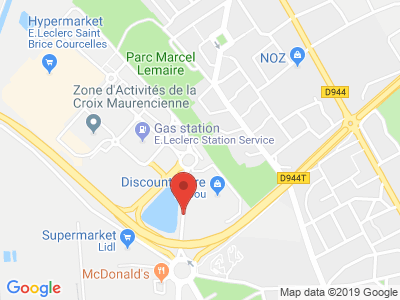 Plan Google Stage recuperation de points à Saint-Brice-Courcelles proche de Reims