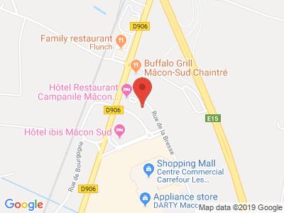 Plan Google Stage recuperation de points à Chaintré proche de Belleville