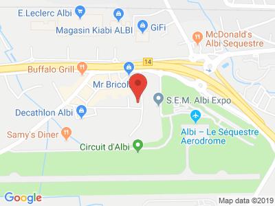Plan Google Stage recuperation de points à Sequestre