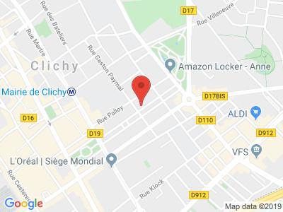 Plan Google Stage recuperation de points à Clichy