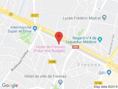 Plan Google Stage recuperation de points à Fresnes