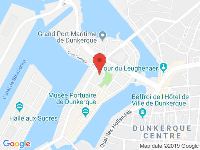 Plan Google Stage recuperation de points à Dunkerque proche de Grande-Synthe