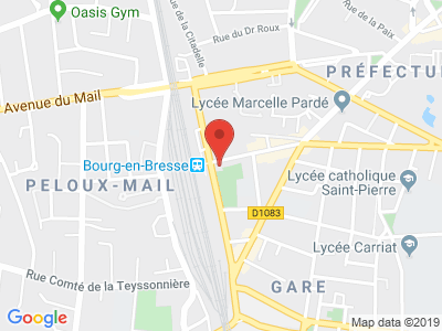 Plan Google Stage recuperation de points à Bourg-en-Bresse