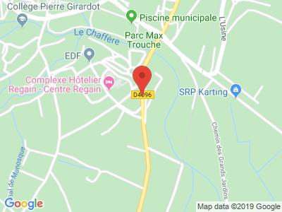 Plan Google Stage recuperation de points à Sainte-Tulle proche de Pertuis