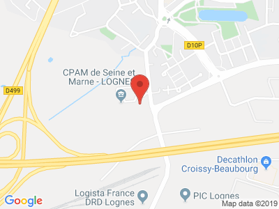 Plan Google Stage recuperation de points à Lognes proche de Torcy