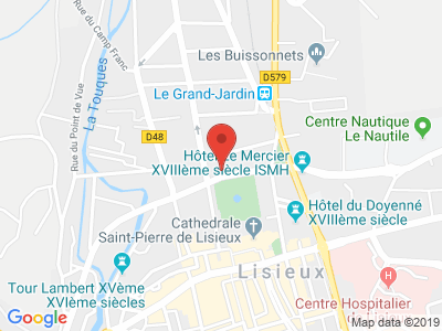 Plan Google Stage recuperation de points à Lisieux