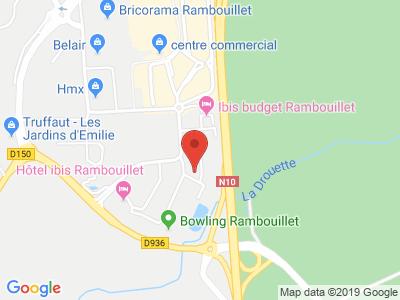 Plan Google Stage recuperation de points à Rambouillet