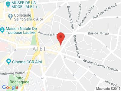 Plan Google Stage recuperation de points à Albi
