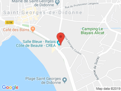 Plan Google Stage recuperation de points à Saint-Georges-de-Didonne proche de Royan