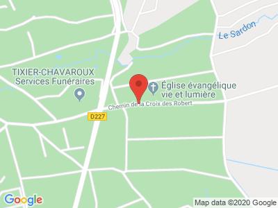 Plan Google Stage recuperation de points à Châtel-Guyon proche de Clermont-Ferrand
