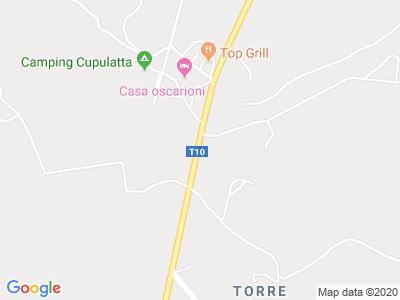 Plan Google Stage recuperation de points à Porto-Vecchio proche de Prunelli-di-Fiumorbo