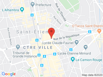 Plan Google Stage recuperation de points à Saint-Étienne proche de Le Puy-en-Velay