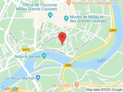 Plan Google Stage recuperation de points à Millau