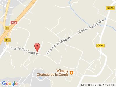 Plan Google Stage recuperation de points à Aix-en-Provence proche de Pertuis