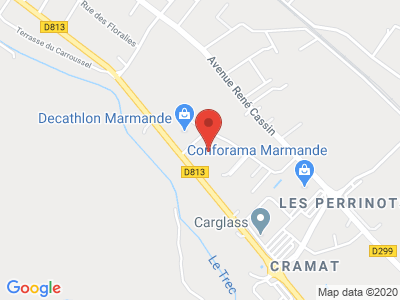 Plan Google Stage recuperation de points à Marmande
