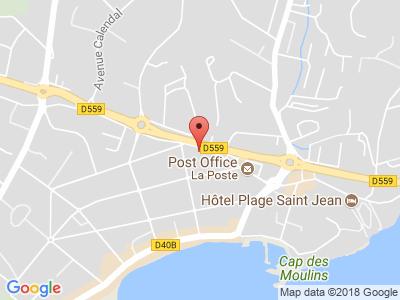 Plan Google Stage recuperation de points à La Ciotat proche de Gémenos