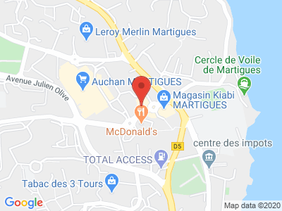 Plan Google Stage recuperation de points à Martigues